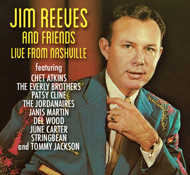 Jim Reeves & Friends Live                 From Nashville cover